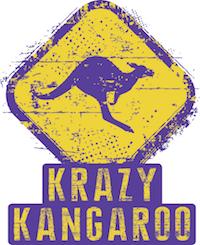 Logo Krazy Kangaroo